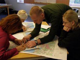 Staabirühma eriala täiendõpe viis kokku NKK ja KL malevkondade liikmed