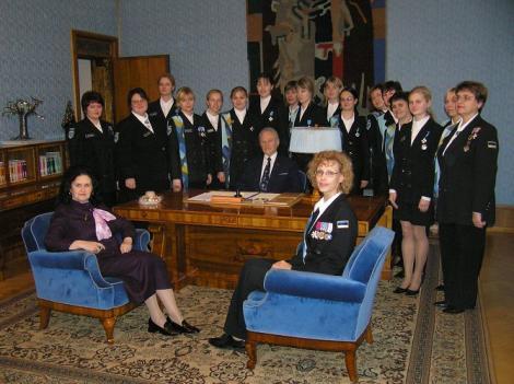 Naiskodukaitse vabatahtlikud juhid kogunevad aastalõpukohtumisele