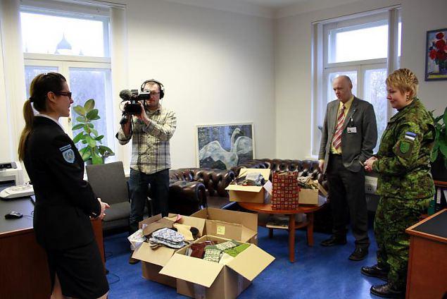 Jõulukingitused Afganistanis teenivatele Eesti kaitseväelastele