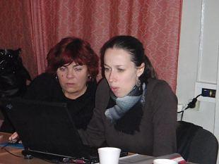 Kuidas NKK Harju ringkonna naised Jõgeva naistega menüüd ja kalkulatsiooni õppimas käisid..