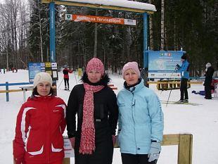 Eesti Vabariigi aastapäeval käisid Jõgeva naised terviseradadel.