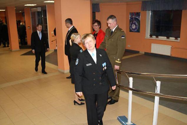 Eesti Vabariigi 94.aastapäeva pidulik vastuvõtt 23.02.2012. Foto: NKK Sakala ringkond
