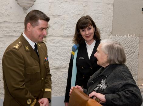 Naiskodukaitse Saaremaa ringkond sai esimese auliikme
