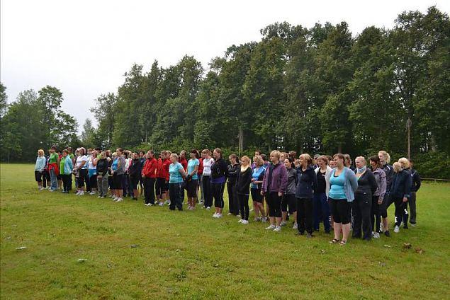 Naiskodukaitsjad veetsid Viljandimaal sportliku nädalavahetuse