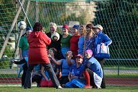 Poseerimine on meil juba selge! 10.09.2012 Jalgpallilahing Kärdla staadionil: Naiskodukaitse vs Päästeamet