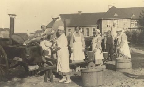 Virumaa naiskodukaitsjad osalesid grillvõistlusel