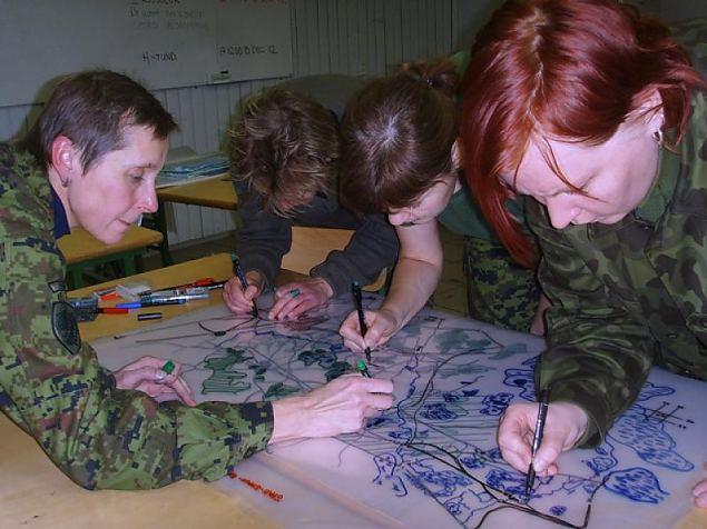 Staabiassistentide kursus Võrumaal