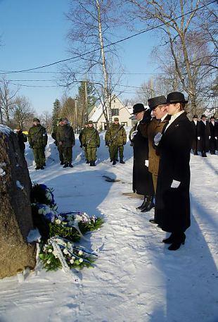 Eesti Vabariigi 95. aastapäeva tähistamine Harju ringkonnas