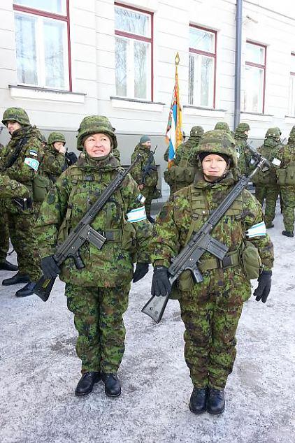 Eesti naine meeste saabastes