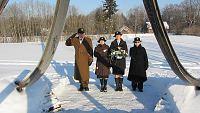 Lillede asetamine Risti raudteejaamas asuva küüditatute mälest 24.02.2013 Eesti Vabariik 95