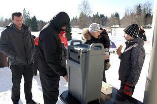 Korraldasime Eesti Politsei Naisühendusega spordipäeva