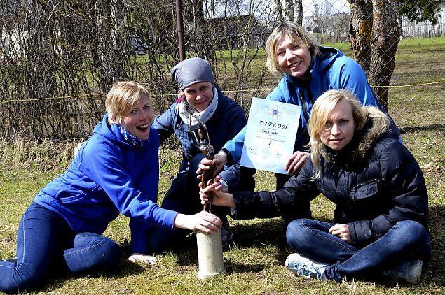 Naiskodukaitse koormusmatka võitis Tallinna ringkond