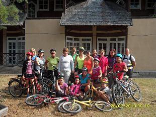 Alitaguse naised jalgrattamatkal Lääne-Virumaal
