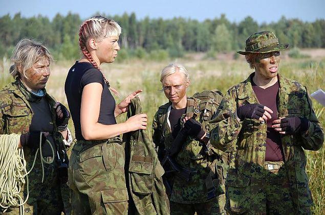 """Tallinna naiskodukaitsjad stardivad """"Utria dessandil"""""""
