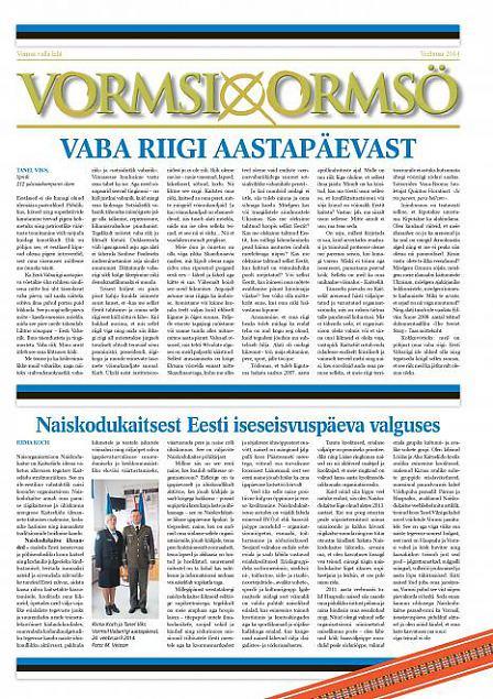 Naiskodukaitsest Eesti iseseisvuspäeva valguses