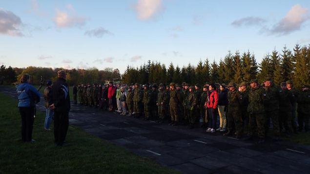 Naiskodukaitse koormusmatk on tänavu Saaremaal