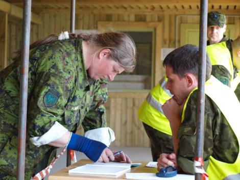 Valga ringkonna instruktor Heili Mets osales Laskeinstruktori kursusel