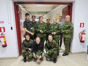 Kevadtormil osaleb ligi 90 naiskodukaitsjat