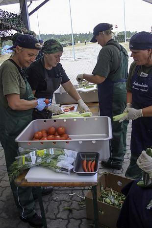 Välikokkade töine nädal Pitka retke baaslaagris