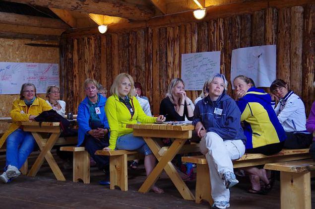 Naiskodukaitse juhtide laager Valgamaal