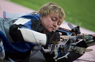 Alutaguse ringkonna naiskodukaitsja Anžela Voronova võitis laskmise MMil pronksmedali