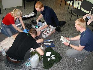 Algab Rühmaparameediku erialakursus Kaitseliidus