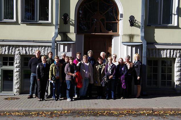 Naiskodukaitse esindajad kohtusid Rootsi Lottadega