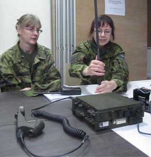 Naiskodukaitse staabiassistendid läbisid täiendõppe
