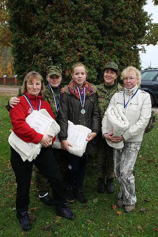 Esmaabi erialavõistlus Vana-Võidus - meil on Virumaa parim naiskond!