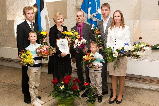 Aasta ema 2015 on Marve Koppel
