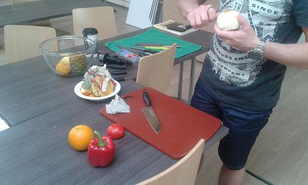 Kuidas taltsutada nuga ehk toitlustusgrupi täiendõpe