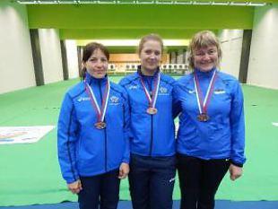 Naiskodukaitsjatest koosnev Eesti püssinaiskond tõi Euroopa meistrivõistlustelt koju kaks pronksmedalit