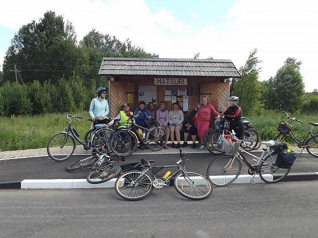 Mari Raamoti nimeline rattamatk kulgeb sel aastal Valga lähistel