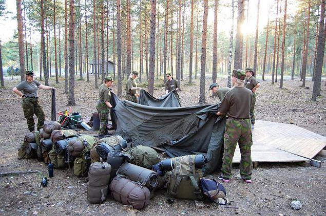 Vabatahtlikud instruktorid käisid end Soomes täiendamas