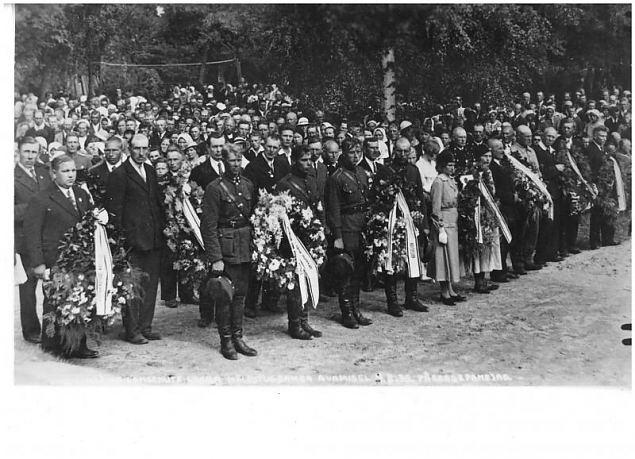 Lihula vabadussõja mälestussamba avamise 80. aastapäev