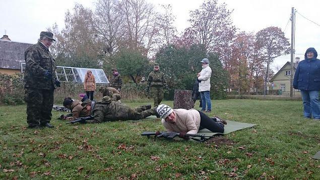 NKK sõduriõpe Risti malevkonna kodus