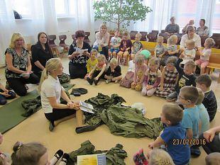 Märjamaa jaoskond käis külas lasteaedades ja puuetega inimestel