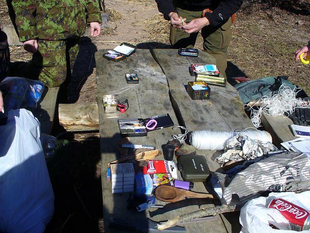 Kivid kaisus: kevadtalvine üleelamislaager Lahemaal