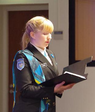 Kõne isamaale 2016 - Berit Cavegn, Tallinna ringkonna esinaine