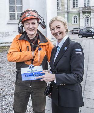 Tänu naiskodukaitsjatele jõudsid sinililled kõikjale Eestis