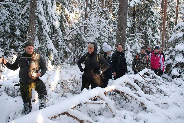 Pedja jaoskonna naised seiklesid Põrgupõhjas metsavendade radadel