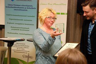 Lääne-Virumaa aasta sädeinimene on naiskodukaitsja Anneli Mikiver