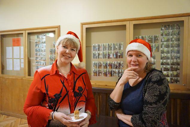 Kaitseliidu Tallinna maleva ja Naiskodukaitse Tallinna ringkonna pisiperel käis külas jõuluvana!
