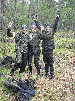 Aasta naiskodukaitsjat Heli Palgit kisub metsa ja luureretkedele