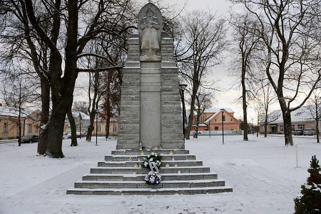 Vabadussõjas võidelnute mälestuspäeva tähistamine Haapsalus