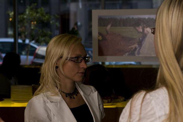 Fotokonkursi ''Eesti naise uskumatud tegemised'' avamine lounge's Novell