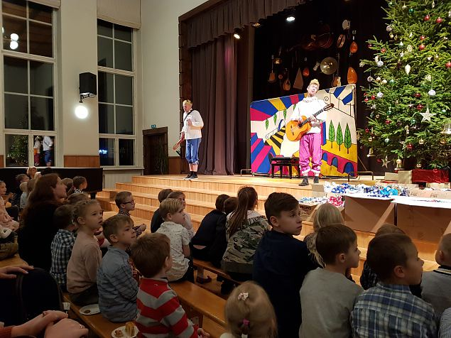 Naiskodukaitse Tallinna ringkonna ja Kaitseliidu Tallinna maleva laste jõulupidu