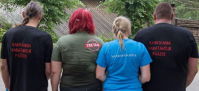 Naiskodukaitsjad ja vabatahtlikud päästjad panid paadirallil seljad kokku