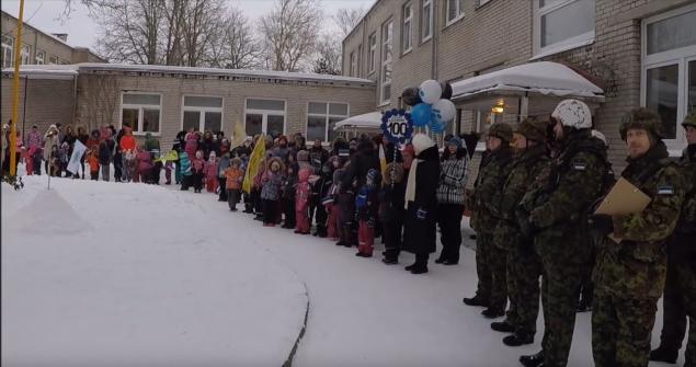 Eesti 100 Kadaka lasteaias