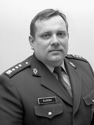 IN MEMORIAM MAJOR BENNO LEESIK 17.01.1960 - 25.03.2006